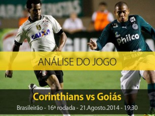 Análise do jogo: Corinthians X Goiás (21 Agosto 2014)