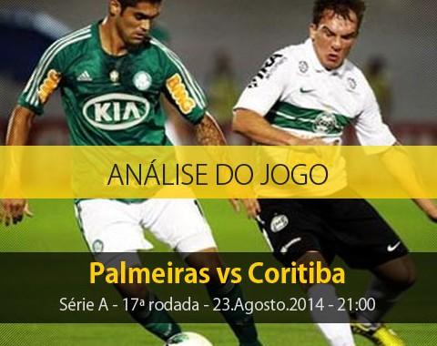 Análise do jogo: Palmeiras X Coritiba (23 Agosto 2014)