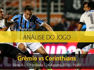 Análise do jogo: Grêmio X Corinthians (24 Agosto 2014)