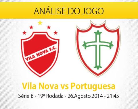 Análise do jogo: Vila Nova X Portuguesa (26 Agosto 2014)