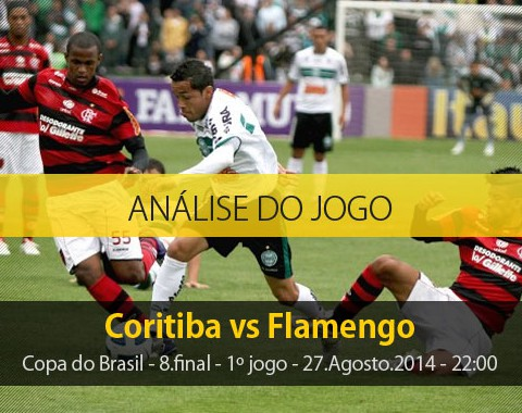 Análise do jogo: Coritiba X Flamengo (27 Agosto 2014)