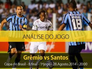 Análise do jogo: Grêmio X Santos (28 Agosto 2014)
