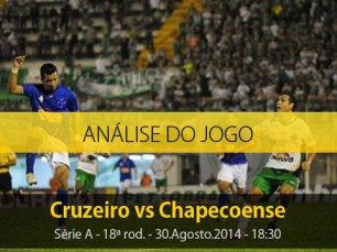 Análise do jogo: Cruzeiro vs Chapecoense (30 Agosto 2014)