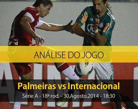Análise do jogo: Palmeiras vs Internacional (30 Agosto 2014)
