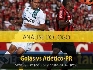 Análise do jogo: Goiás vs Atlético Paranaense (31 Agosto 2014)