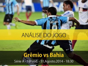 Análise do jogo: Grêmio vs Bahia (31 Agosto 2014)