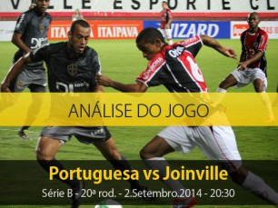 Análise do jogo: Portuguesa vs Joinville (2 Setembro 2014)