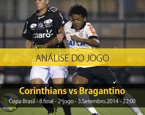 Análise do jogo: Corinthians vs Bragantino (3 Setembro 2014)