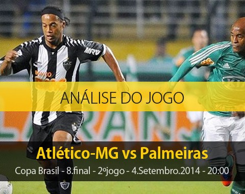 Análise do jogo: Atlético Mineiro X Palmeiras (4 Setembro 2014)