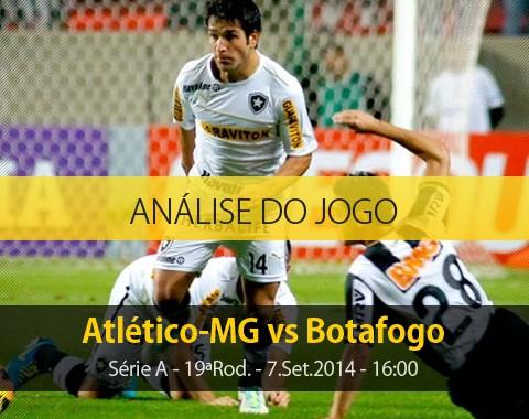 Análise do jogo: Atlético Mineiro X Botafogo (7 Setembro 2014)