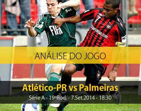 Análise do jogo: Atlético PR vs Palmeiras (7 Setembro 2014)