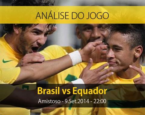 Análise do jogo: Brasil x Equador (9 Setembro 2014)