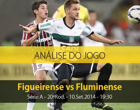 Análise do jogo: Figueirense vs Fluminense (10 Setembro 2014)