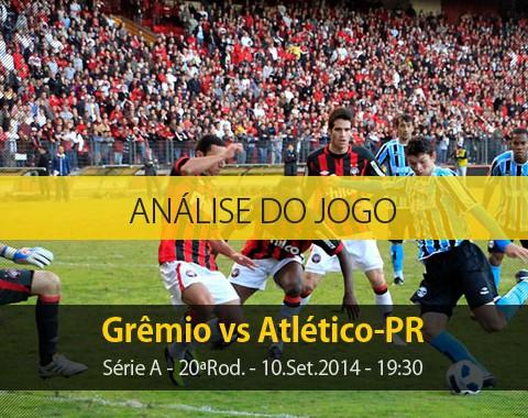 Análise do jogo: Grêmio vs Atlético-PR (10 Setembro 2014)