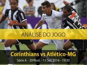 Análise do jogo: Corinthians vs Atlético Mineiro (11 Setembro 2014)