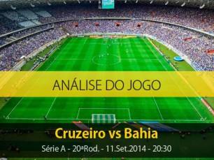 Análise do jogo: Cruzeiro vs Bahia (11 Setembro 2014)