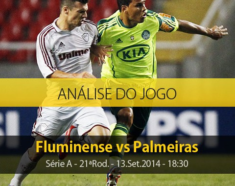 Análise do jogo: Fluminense vs Palmeiras (13 Setembro 2014)