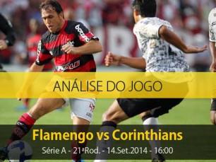 Análise do jogo: Flamengo vs Corinthians (14 Setembro 2014)
