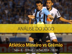 Análise do jogo: Atlético Mineiro vs Grêmio (14 Setembro 2014)