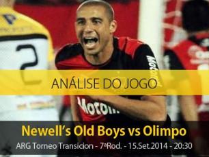 Análise do jogo: Newell's Old Boys vs Olimpo (15 Setembro 2014)