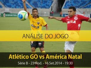 Análise do jogo: Atlético GO vs América Natal (16 Setembro 2014)