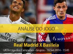 Análise do jogo: Real Madrid vs Basileia (16 Setembro 2014)