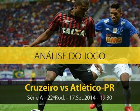 Análise do jogo: Cruzeiro vs Atlético Paranaense (17 Setembro 2014)