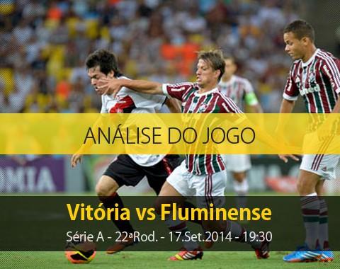 Análise do jogo: Vitória vs Fluminense (17 Setembro 2014)