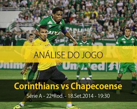 Análise do jogo: Corinthians X Chapecoense (18 Setembro 2014)