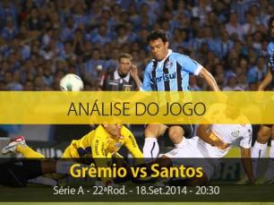 Análise do jogo: Grêmio X Santos (18 Setembro 2014)