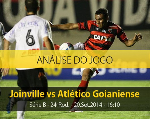 Análise do jogo: Joinville X Atlético Goianiense (20 Setembro 2014)
