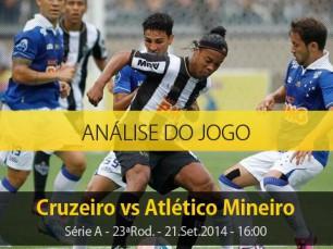 Análise do jogo: Cruzeiro vs Atlético Mineiro (21 Setembro 2014)