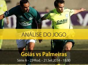Análise do jogo: Goiás vs Palmeiras (21 Setembro 2014)