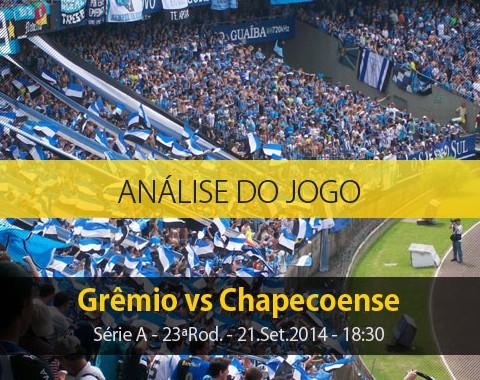 Análise do jogo: Grêmio vs Chapecoense (21 Setembro 2014)