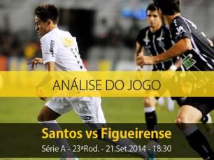 Análise do jogo: Santos vs Figueirense (21 Setembro 2014)