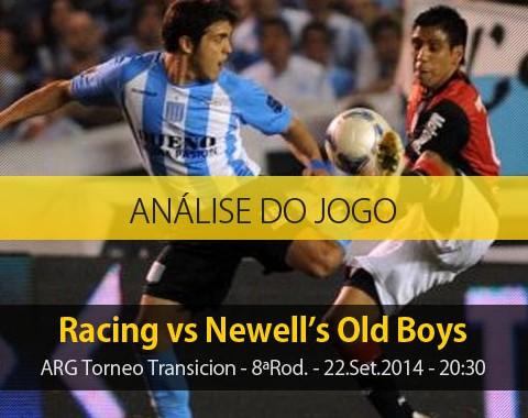 Análise do jogo: Racing X Newell's Old Boys (22 Setembro 2014)