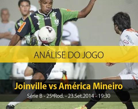 Análise do jogo: Joinville vs América Mineiro (23 Setembro 2014)