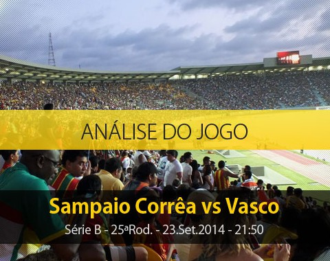 Análise do jogo: Sampaio Corrêa X Vasco (23 Setembro 2014)