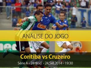Análise do jogo: Coritiba vs Cruzeiro (24 Setembro 2014)