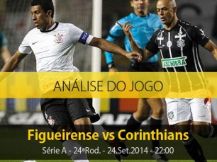 Análise do jogo: Figueirense vs Corinthians (24 Setembro 2014)