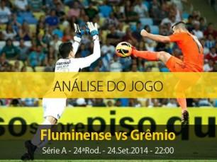 Análise do jogo: Fluminense vs Grêmio (24 Setembro 2014)