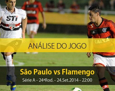 Análise do jogo: São Paulo vs Flamengo (24 Setembro 2014)