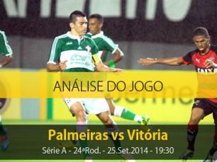 Análise do jogo: Palmeiras vs Vitória (25 Setembro 2014)