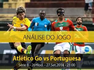 Análise do jogo: Atlético Goianiense X Portuguesa (27 Setembro 2014)