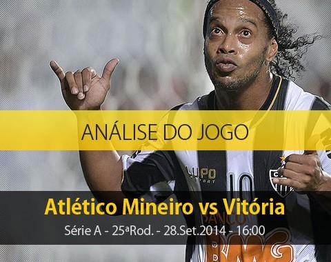 Análise do jogo: Atlético Mineiro vs Vitória (28 Setembro 2014)