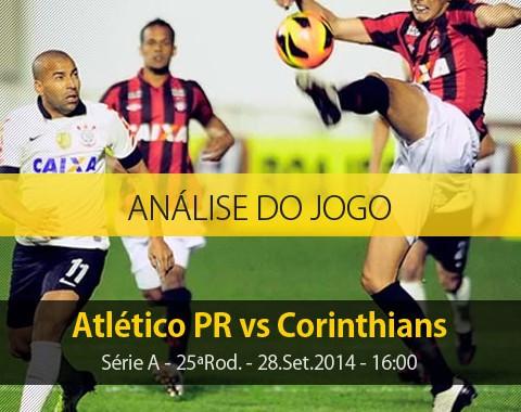 Análise do jogo: Atlético PR vs Corinthians (28 Setembro 2014)