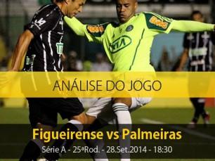Análise do jogo: Figueirense vs Palmeiras (28 Setembro 2014)