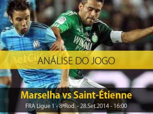 Análise do jogo: Marselha vs Saint-Étienne (28 Setembro 2014)