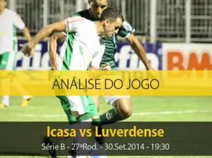 Análise do jogo: Icasa vs Luverdense (30 Setembro 2014)