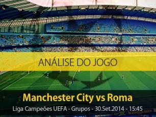 Análise do jogo: Manchester City vs Roma (30 Setembro 2014)